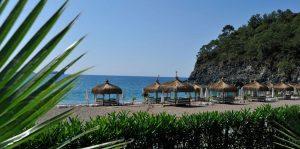 пляж отеля Amara Dolce Vita