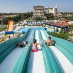 водные горки отеля Bellis Deluxe Hotel