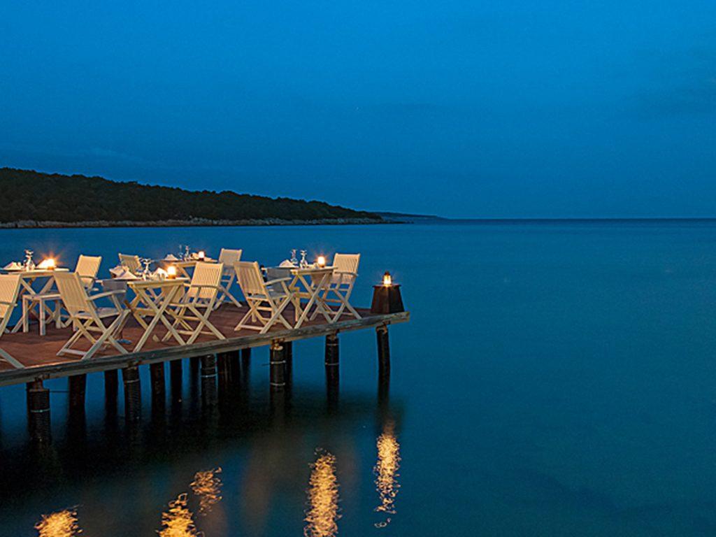 пляж отеля Bodrum Park Resort
