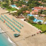 пляж отеля Club Boran Mare Beach