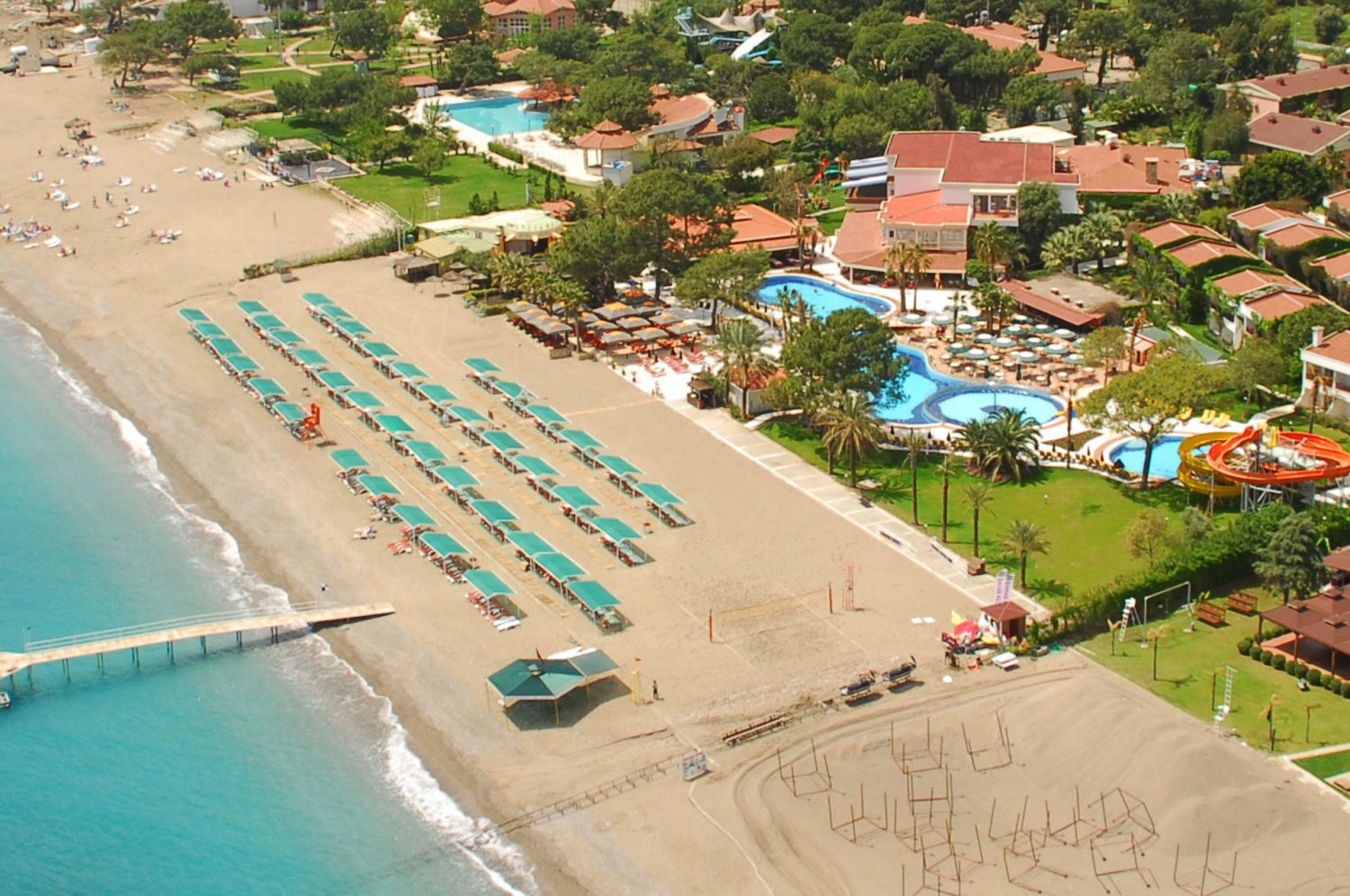 пляж отеля Club Boran Mare Beach