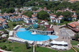 территория отеля Club Marco Polo