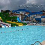 бассейн и водные горки отеля Eftalia Aqua