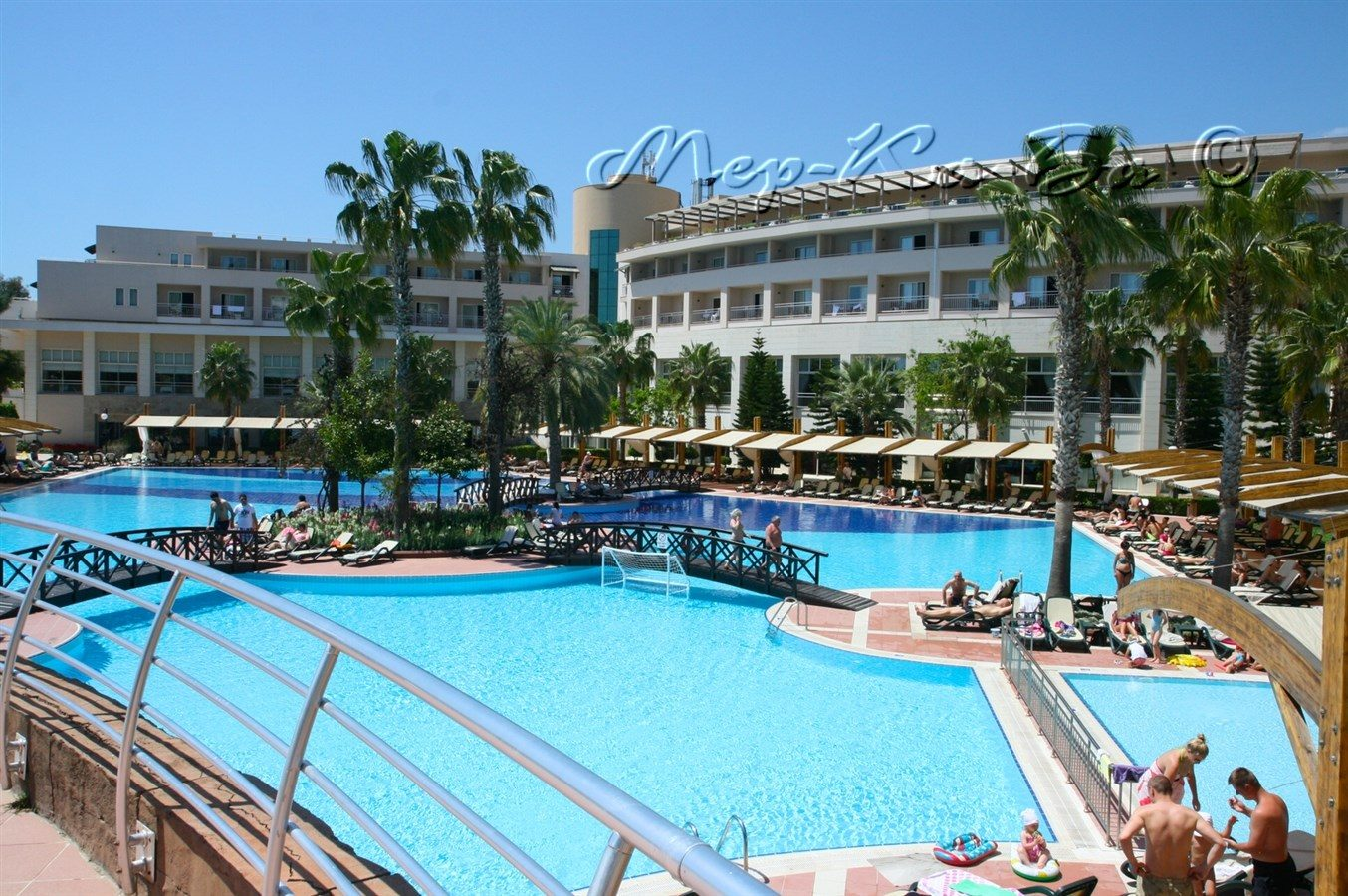 бассейн отеля Rixos Premium Tekirova