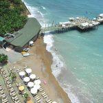 пляж отеля Utopia World Resort & Spa