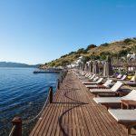 пляж отеля Voyage Bodrum