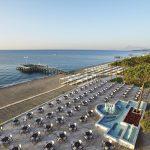 пляж отеля Alva Donna World Palace