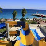 водные горки отеля TUI Day and Night Connected Hydros Club