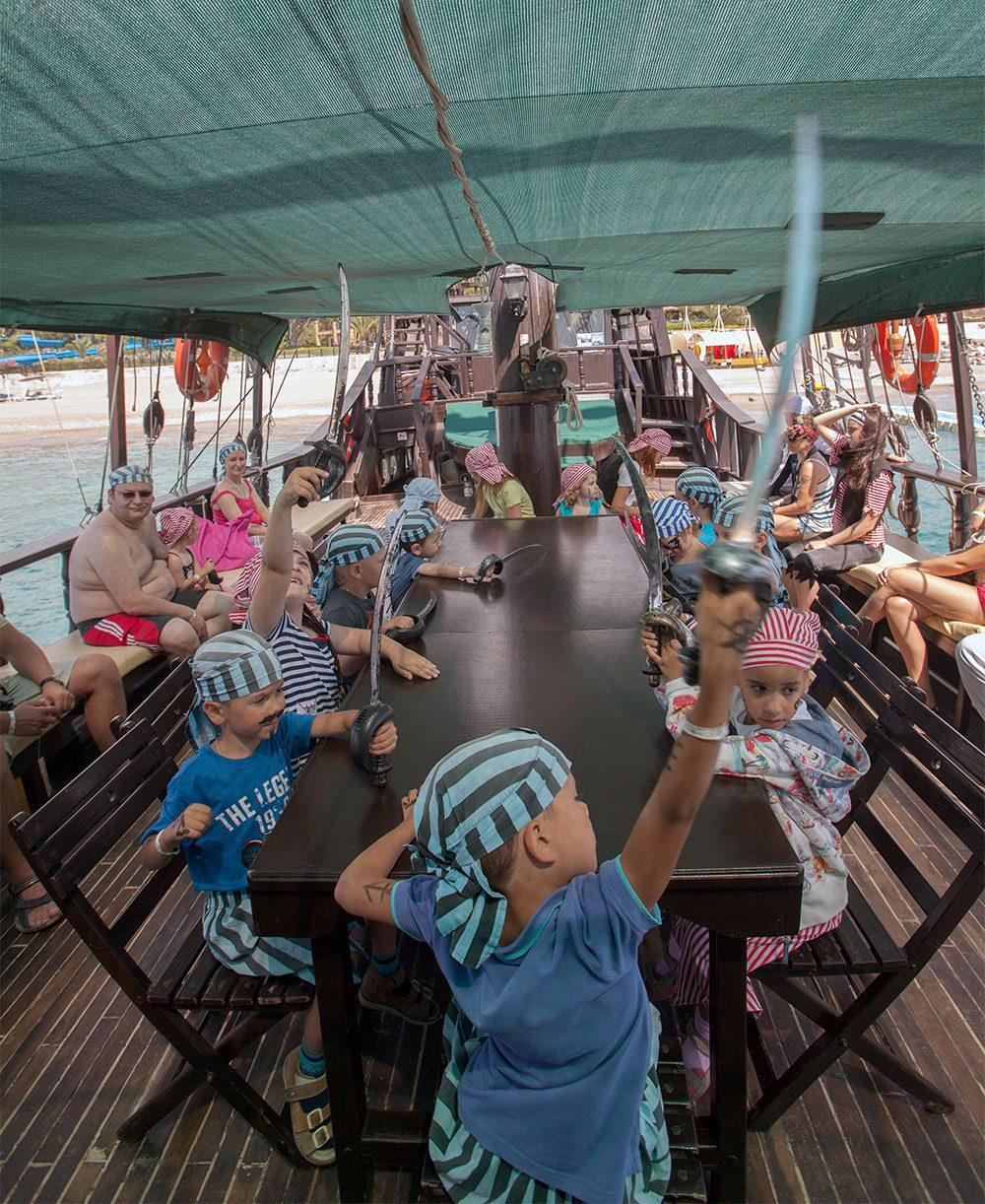 детский клуб отеля Pirate's Beach Club