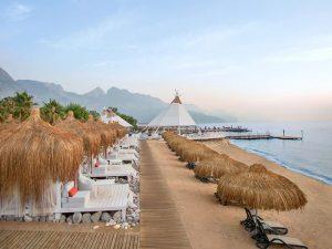пляж отеля Paloma Renaissance Antalya