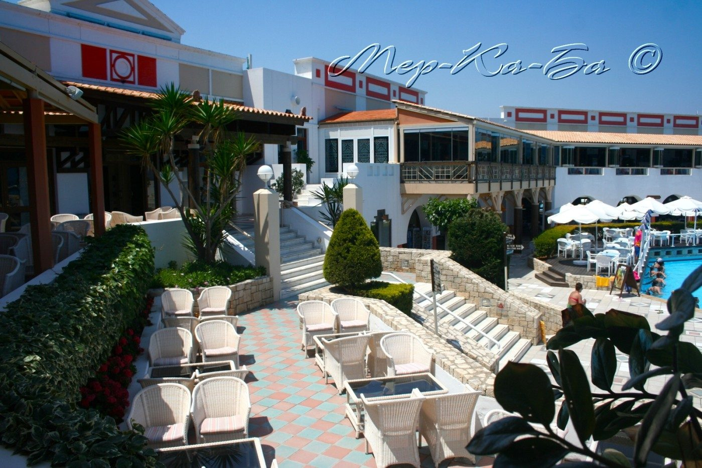 ресторан отеля Aldemar Knossos Royal