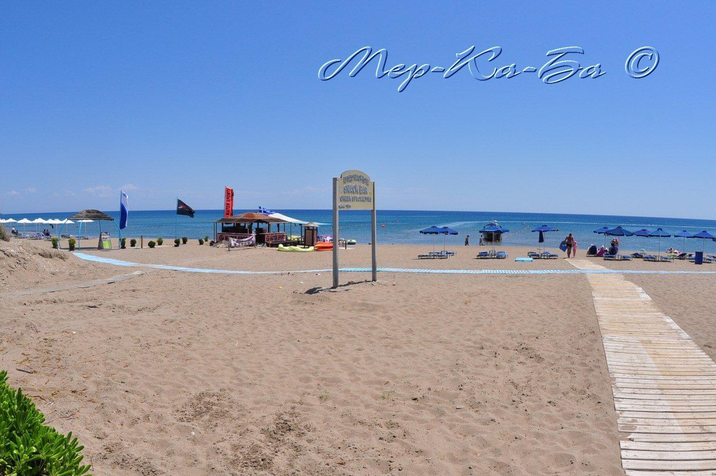 пляж отеля Apollo Beach