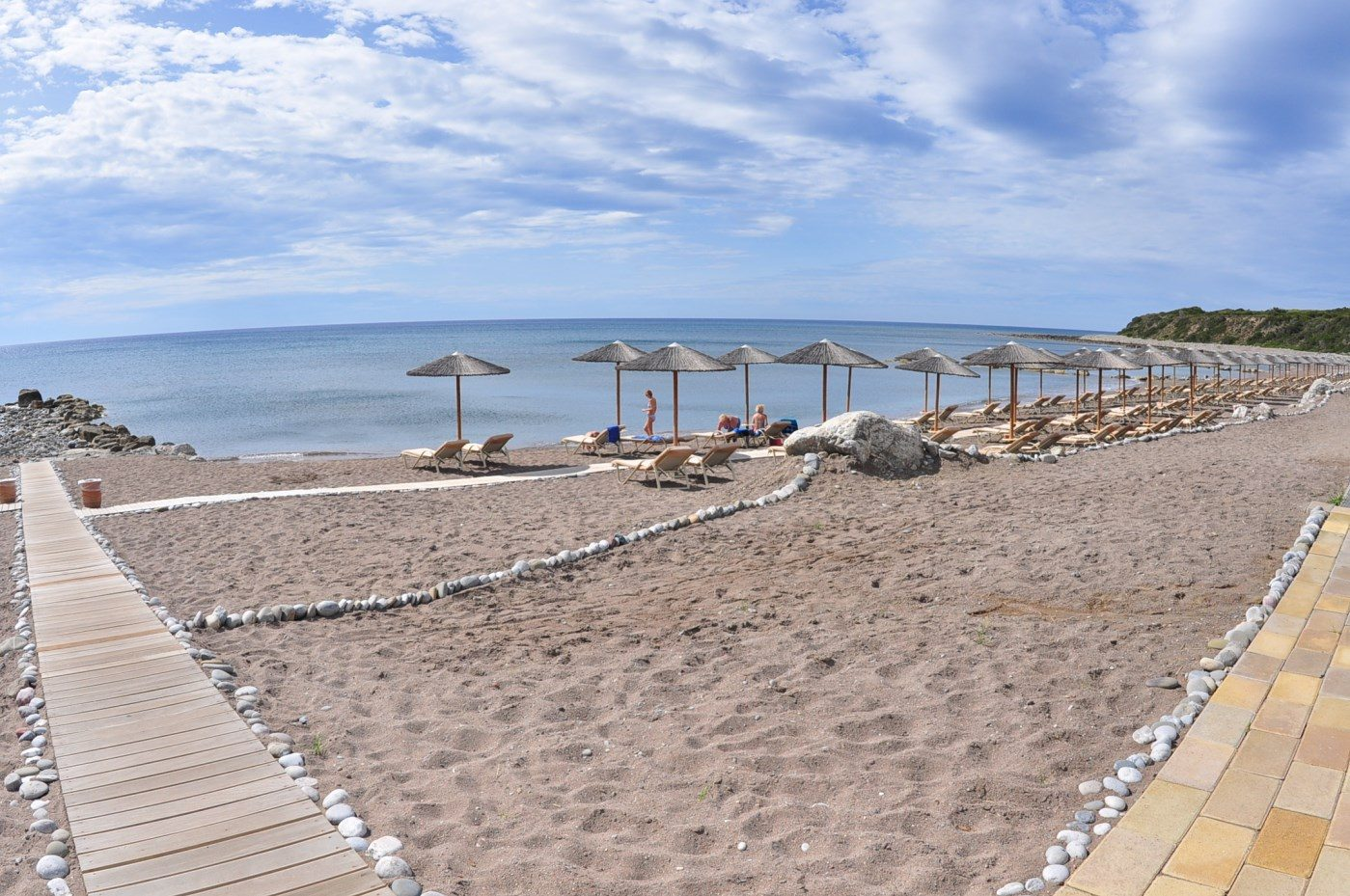 пляж отеля Atrium Prestige Thalasso Spa Resort & Villas