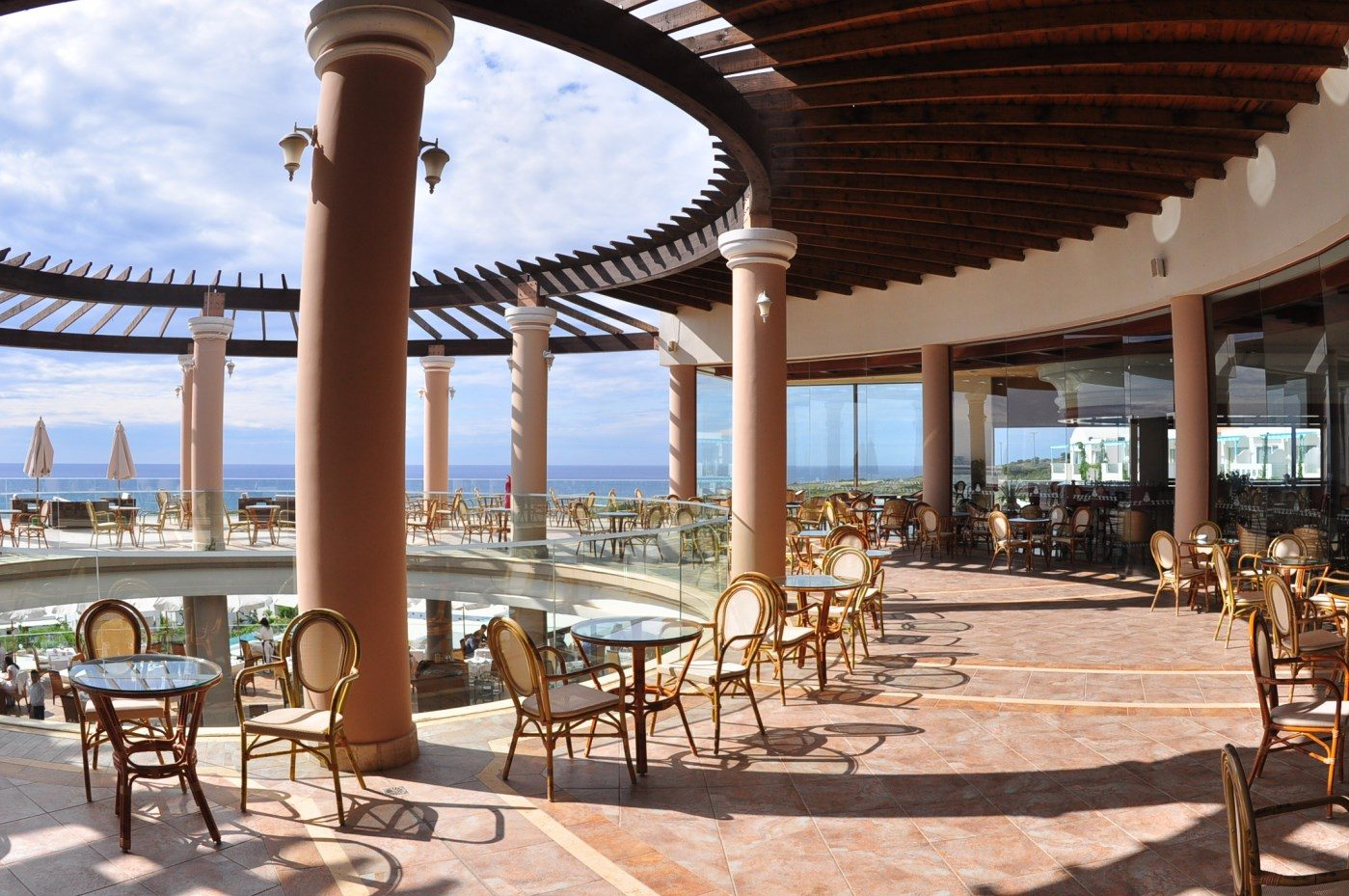 ресторан отеля Atrium Prestige Thalasso Spa Resort & Villas