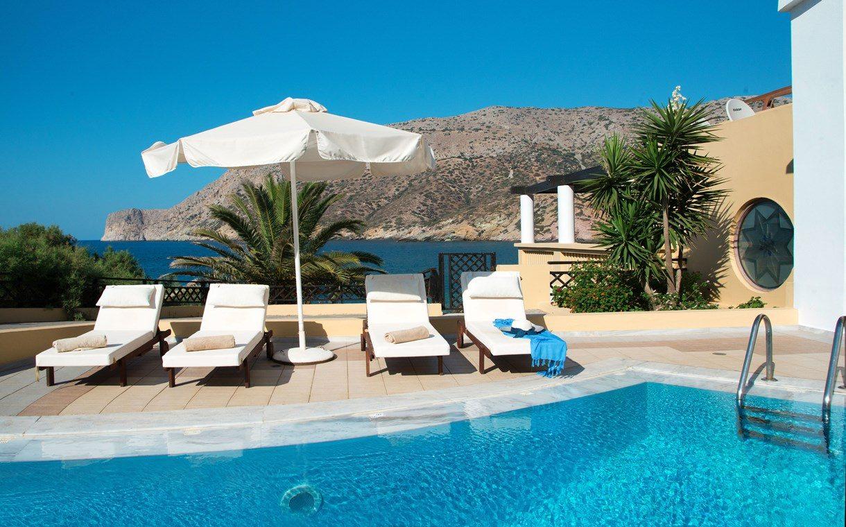 бассейн отеля Fodele Beach Hotel