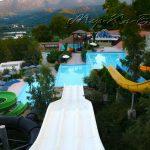 водные горки отеля Fodele Beach Hotel