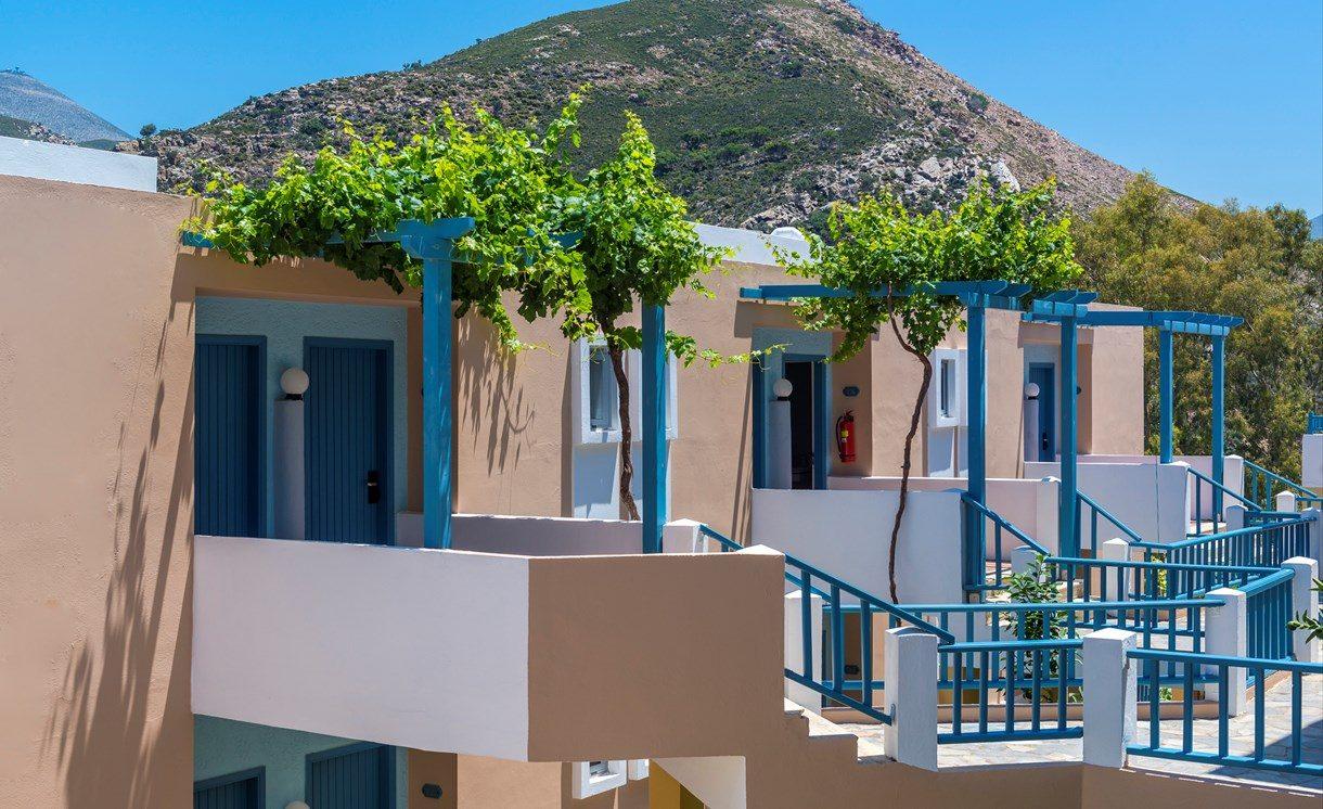 корпус отеля Fodele Beach Hotel