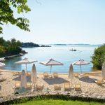 пляж отеля Grecotel Corfu Imperial