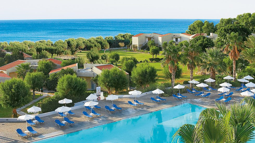бассейн отеля Grecotel Rhodos Royal