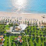 пляж отеля Grecotel Rhodos Royal