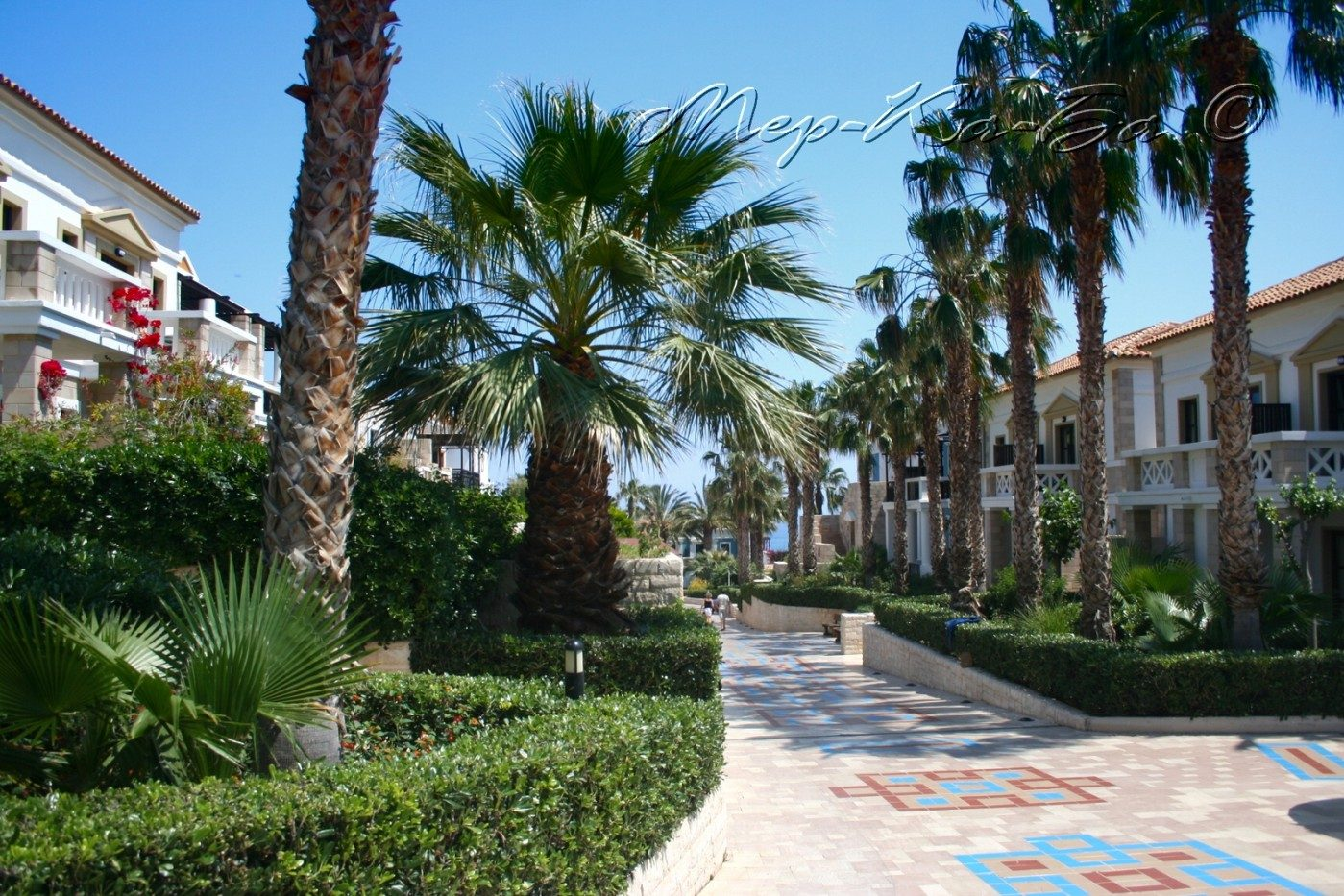 территория отеля Aldemar Royal Mare Luxury Resort Thalasso