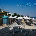 пляж отеля Aldemar Royal Mare Luxury Resort Thalasso