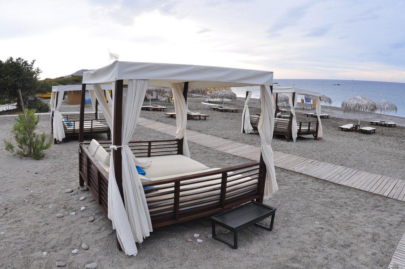 пляж отеля Lindian Village