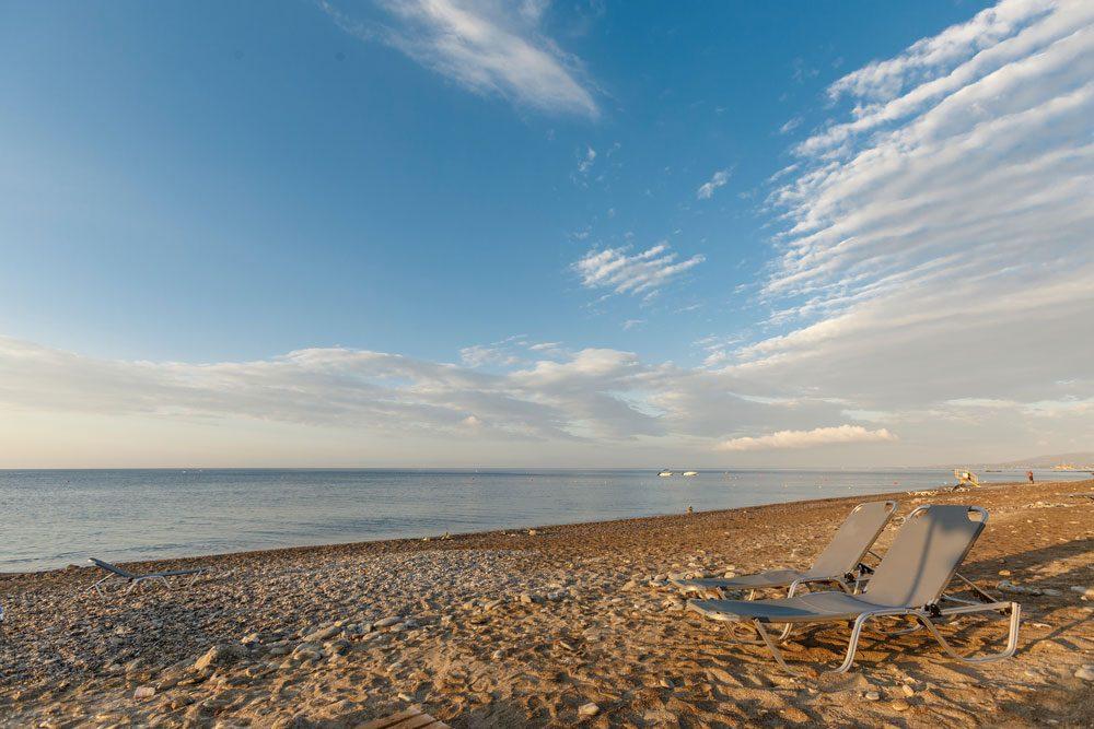 пляж отеля Lindos Imperial Resort Spa