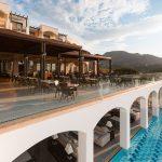 территория отеля Lindos Imperial Resort Spa
