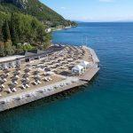 пляж отеля MarBella Corfu