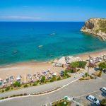 пляж отеля Porto Angeli