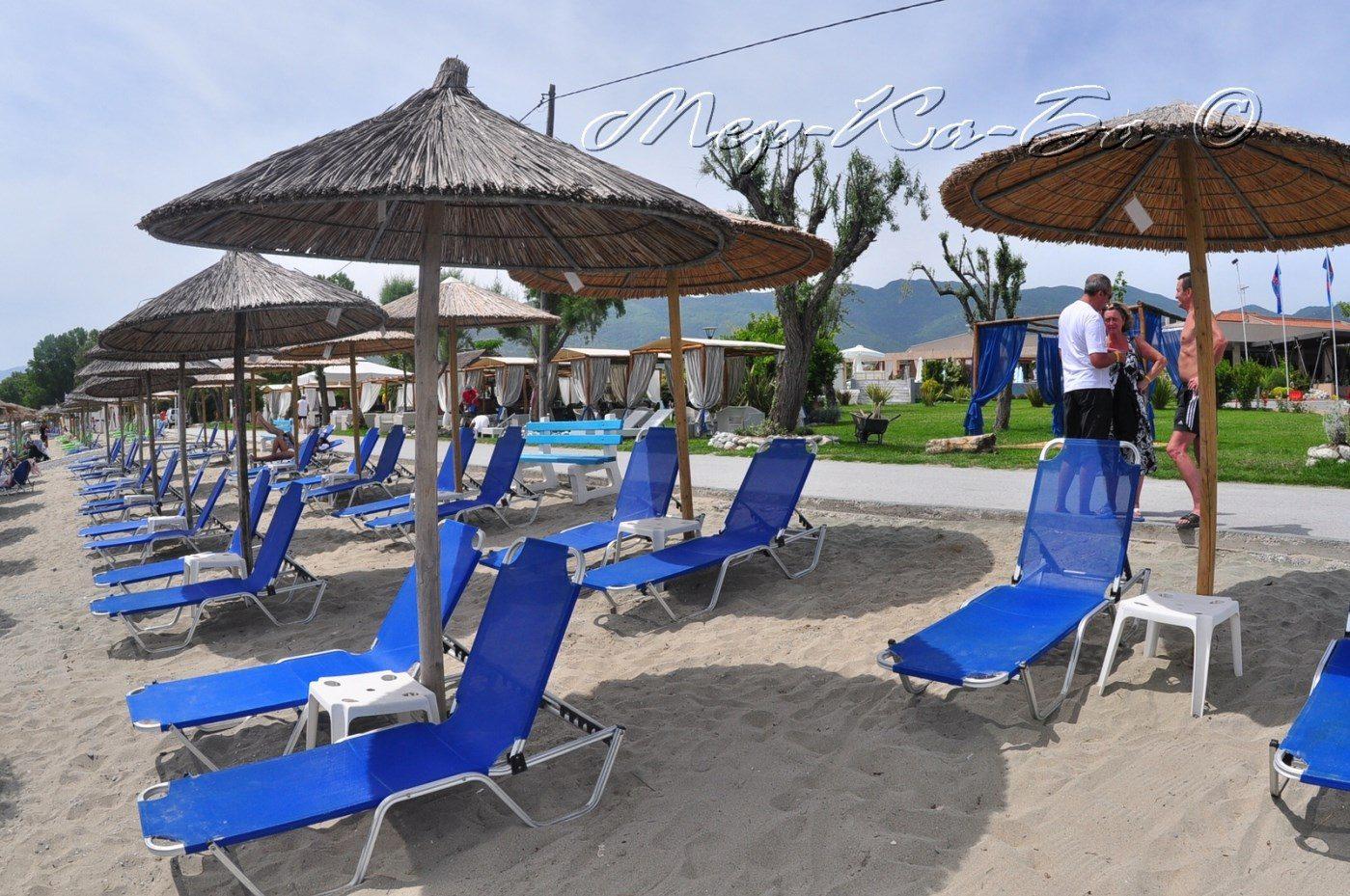 пляж отеля Poseidon Palace