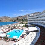 территория отеля Sentido Lindos Bay Resort & SPA Hotel