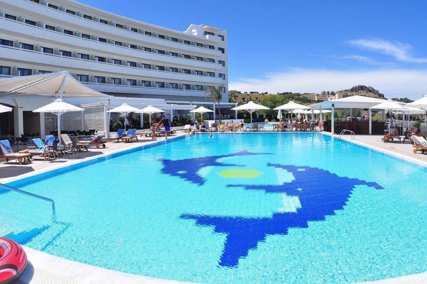 бассейн отеля Sentido Lindos Bay Resort & SPA Hotel