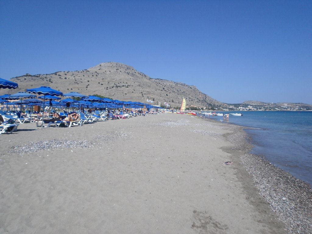 пляж отеля Ellia Hotel