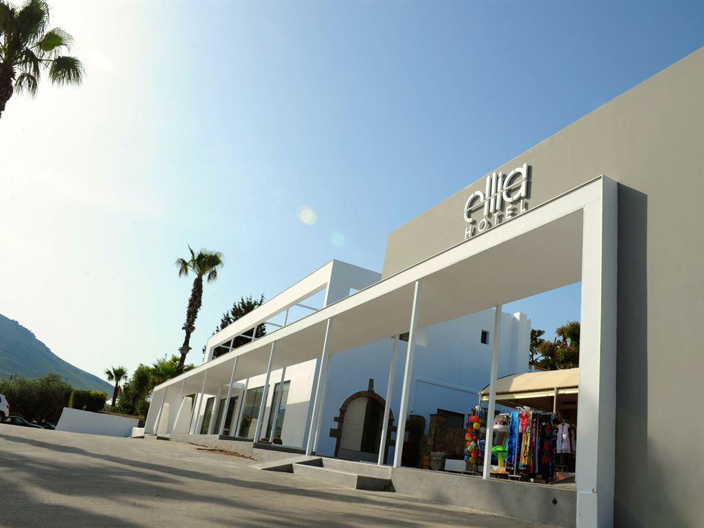 территория отеля Ellia Hotel