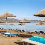пляж отеля Agapi Beach