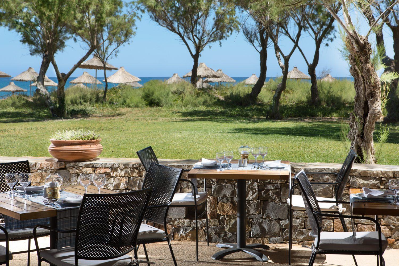 ресторан отеля Agapi Beach