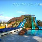 водные горки отеля Ali Bey Park & Club