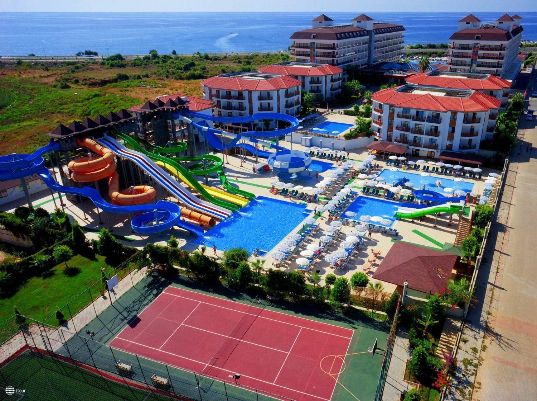 территория отеля Eftalia Ocean