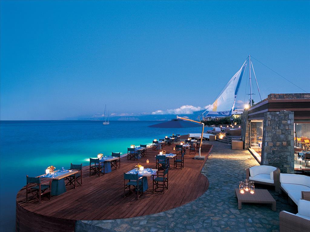 ресторан отеля Elounda Bay Palace