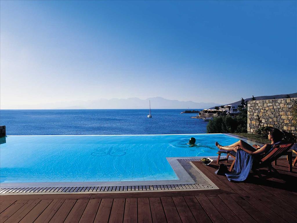 бассейн отеля Elounda Bay Palace
