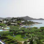 территория отеля Elounda Bay Palace
