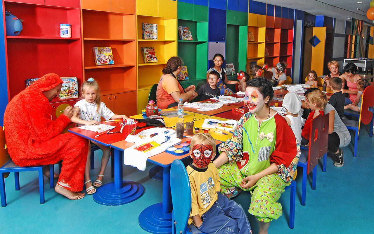детский клуб отеля Gloria Serenity Resort