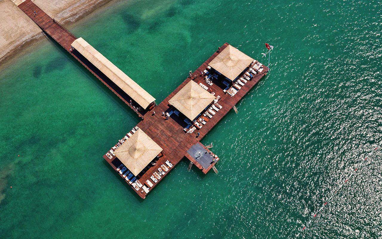 пляж отеля Gloria Serenity Resort