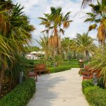 территория отеля Mukarnas Spa Resort
