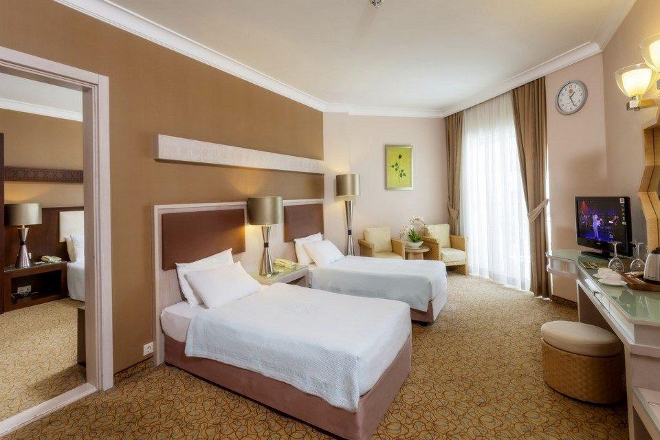 номер отеля Mukarnas Spa Resort