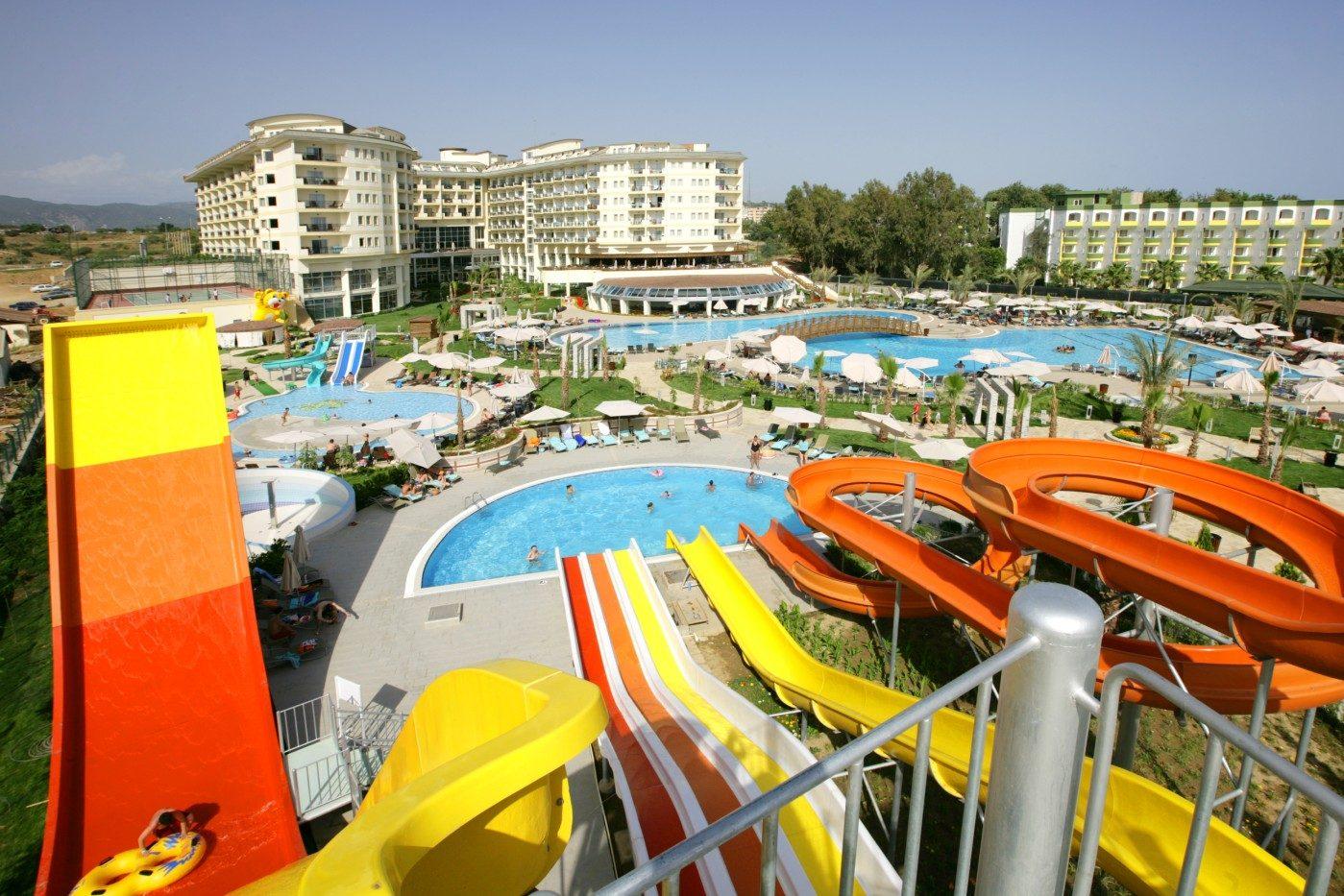 аквапарк отеля Mukarnas Spa Resort