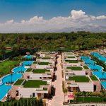 территория отеля Regnum Carya Golf Resort & Spa