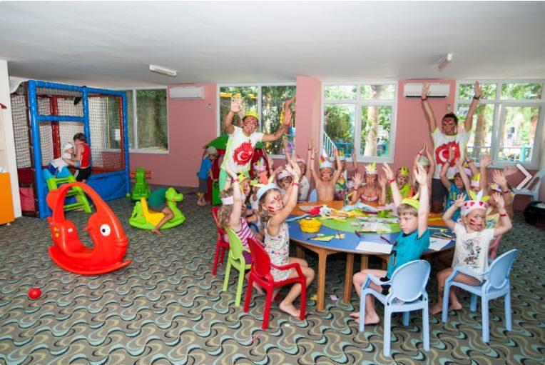 детский клуб отеля Concordia Celes